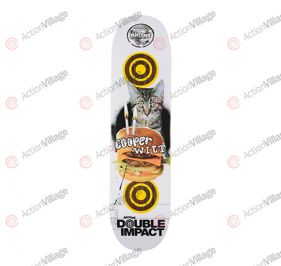 Almost Double DI - Cooper Wilt - 7.9 - Skateboard Deck