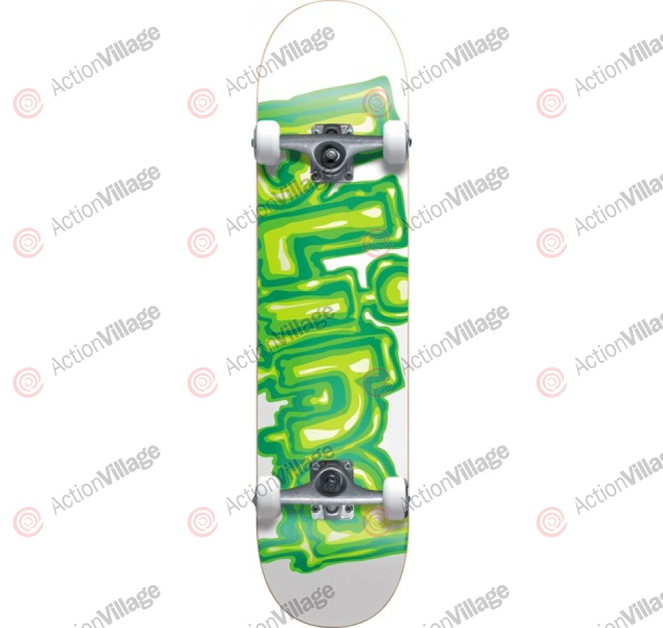 Blind Slime - White/Green - 7.5 - Complete Skateboard