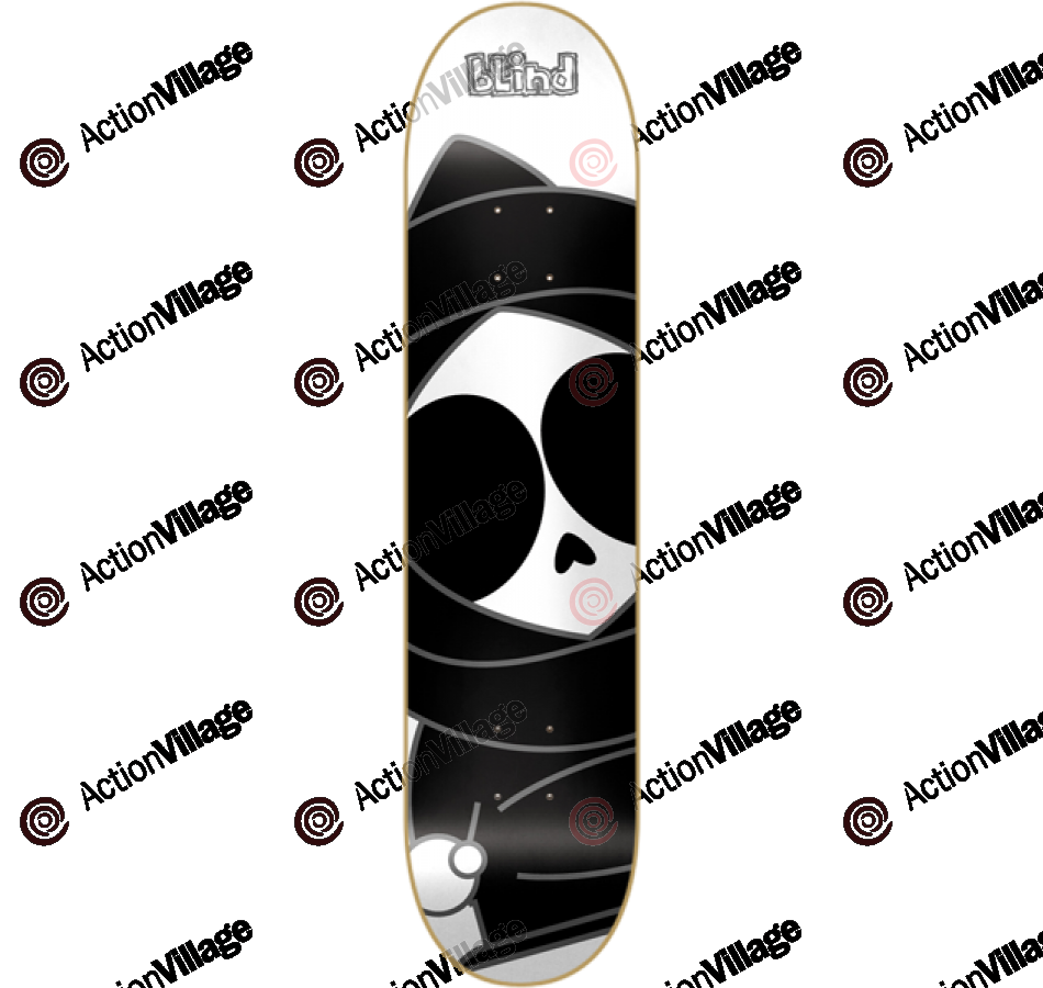 Blind Macro Kenny SS - White/Black - 7.6 - Skateboard Deck