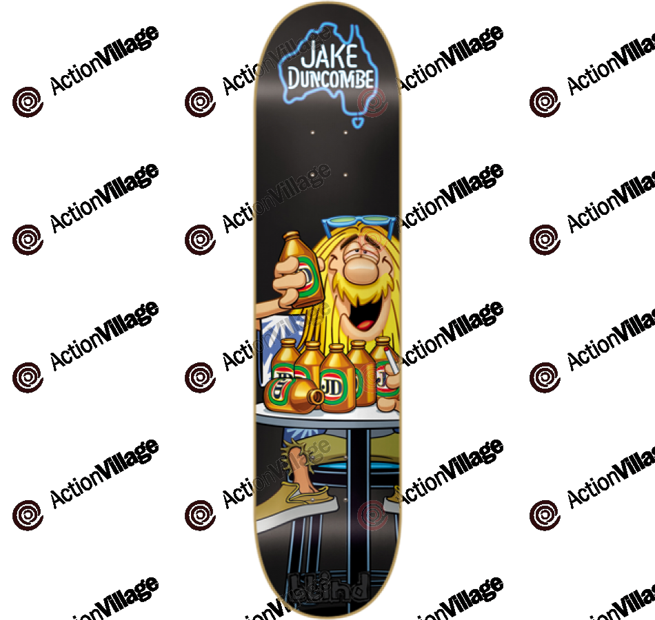 Blind Drunkombe R8 - Jake Duncombe - 8.3 - Skateboard Deck