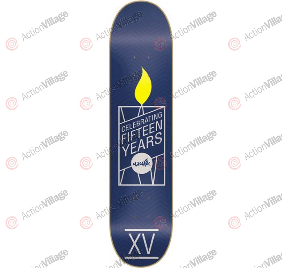 Cliche XV Years R7 - Blue/Grey - 8.0 - Skateboard Deck