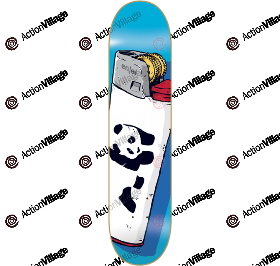 Enjoi Lighter R7 - Turquoise - 8.38 - Skateboard Deck