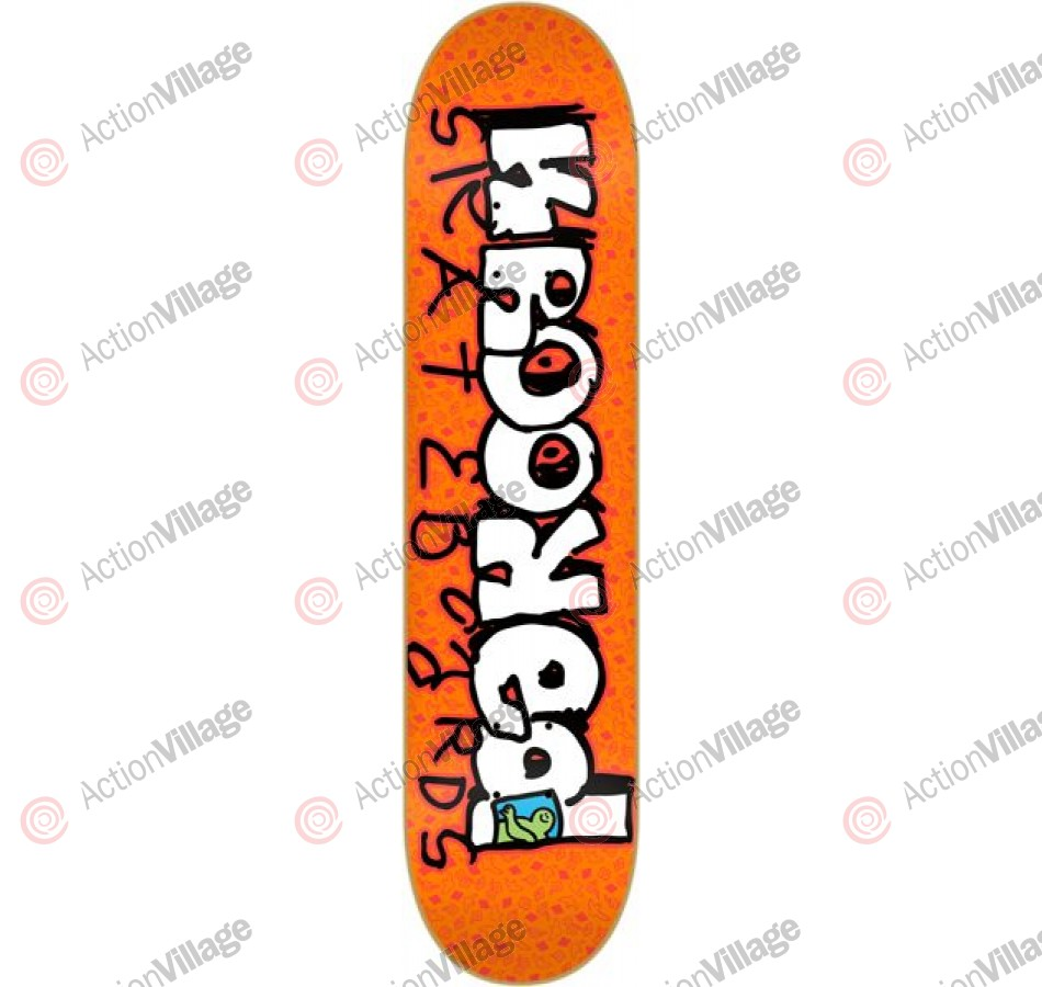 Krooked Krkker Sm - Orange - 8.06 - Skateboard Deck