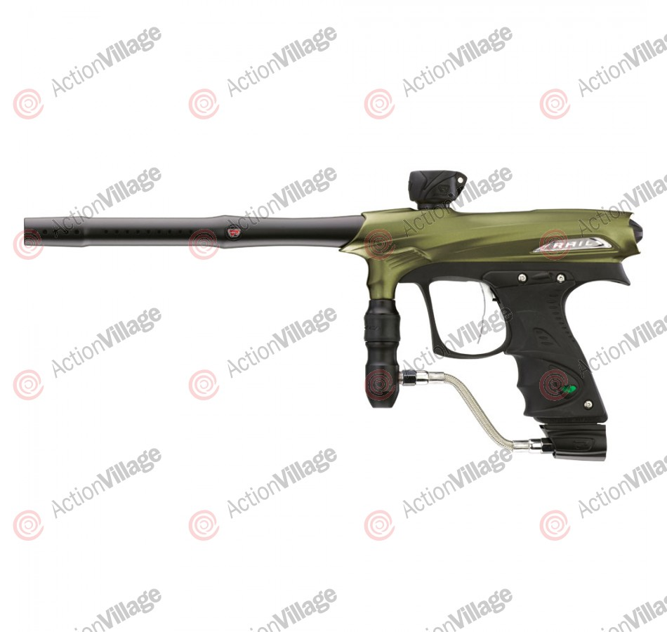 2011 Proto Rail PMR Paintball Gun - Dust Olive