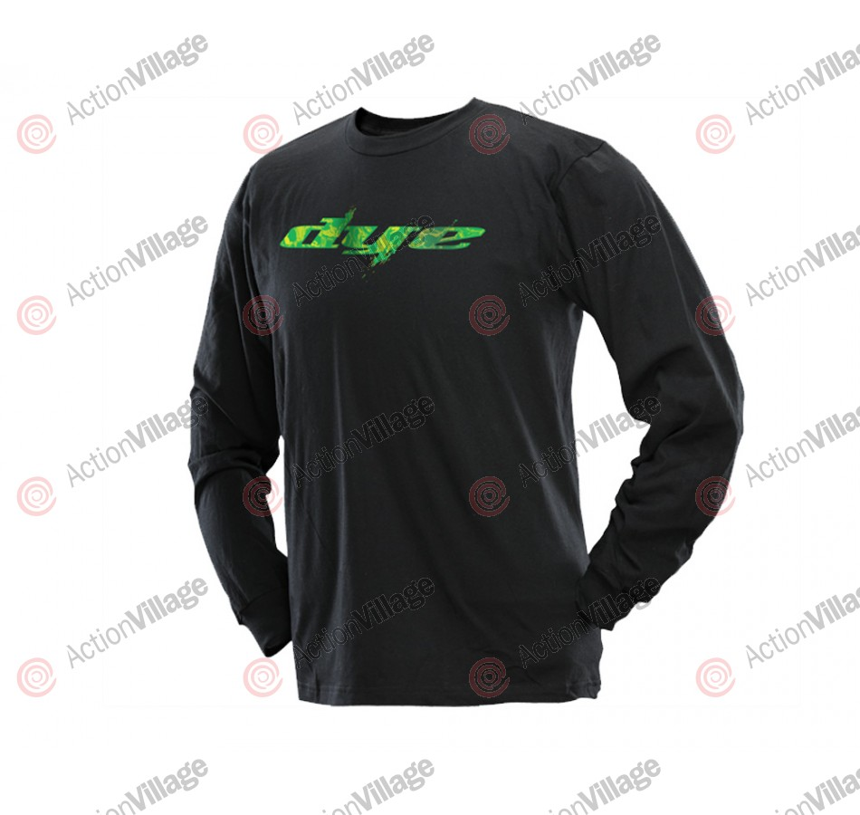 2013 Dye Scale Long Sleeve T-Shirt - Black