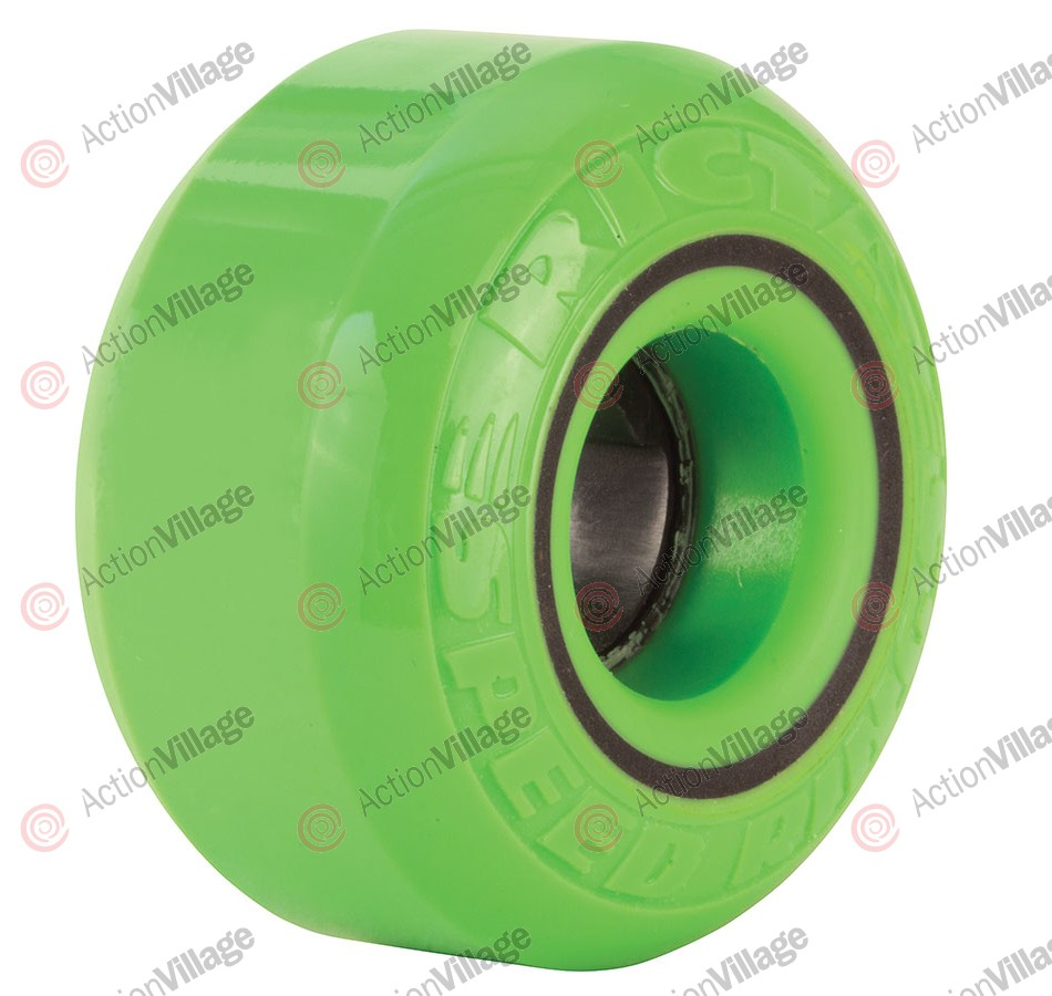 Ricta 54mm Speedrings 81b - Green/Black - Skateboard Wheels