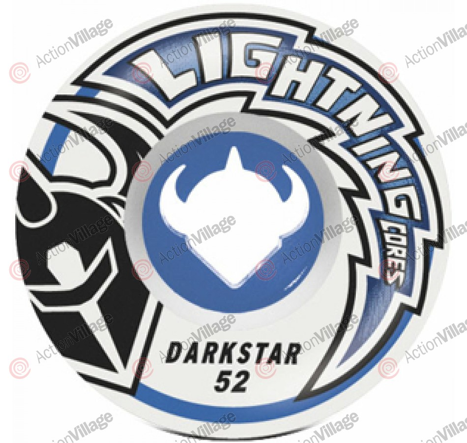 Darkstar Strike Lightning Core - Blue/White - 52mm - Skateboard Wheels