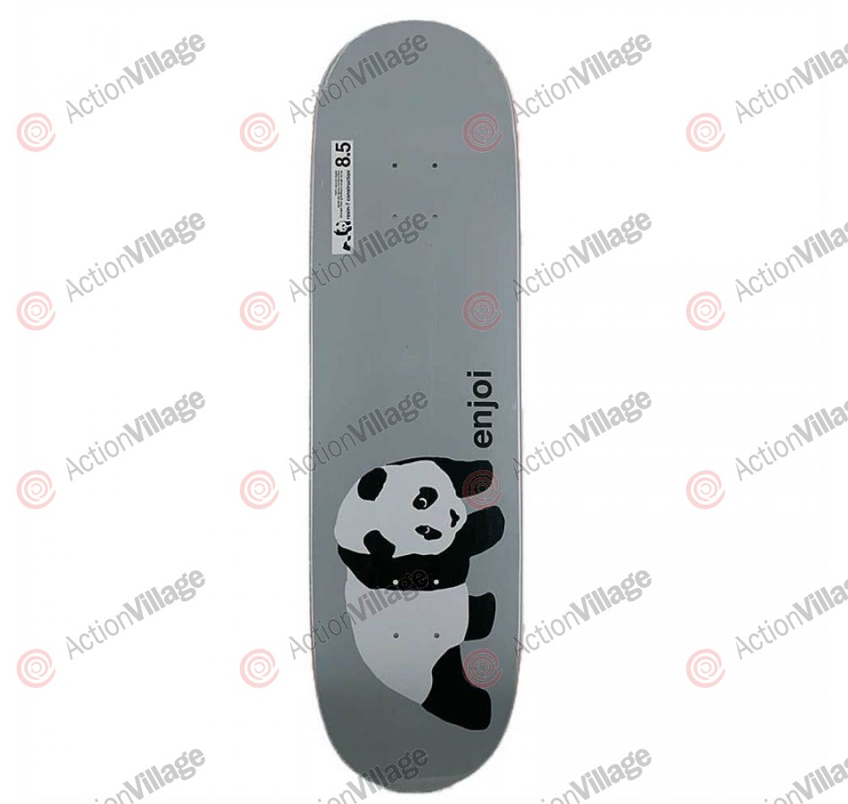 Enjoi Original Panda - Grey - 8.5 - Skateboard Deck