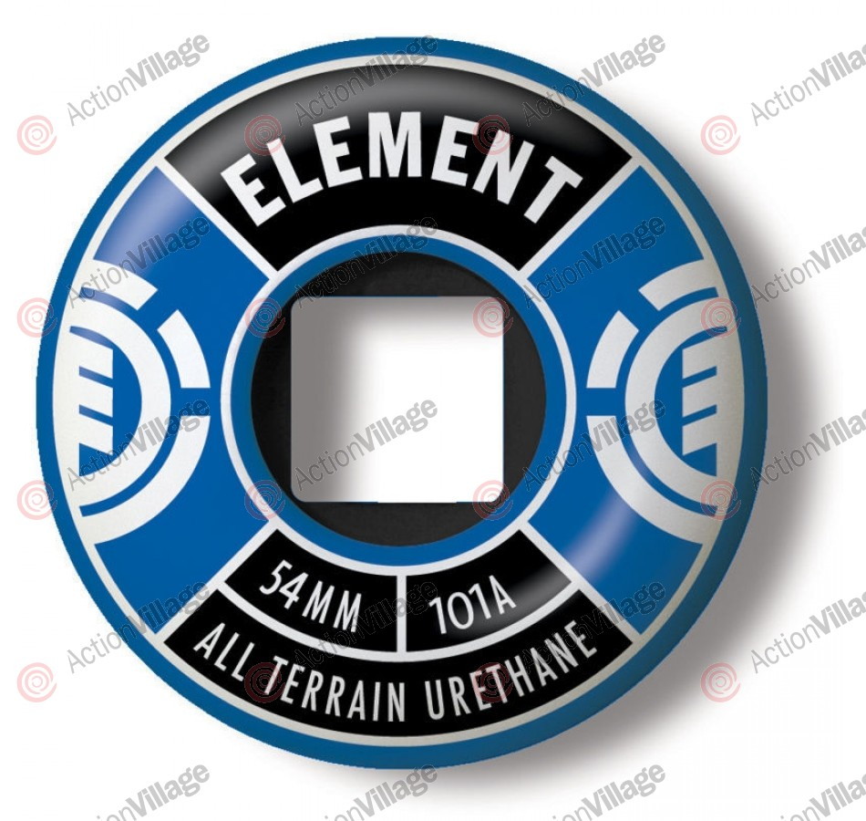 Element Divided 54mm - Blue - Skateboard Wheels