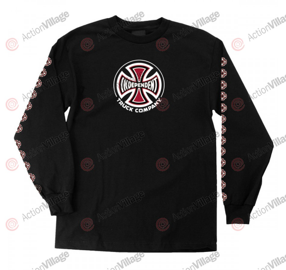 Independent Truck Co Regular L/S - Black - Long Sleeve T-Shirt