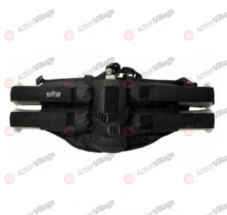 Gen X Global 4+1 Horizontal Paintball Harness - Black