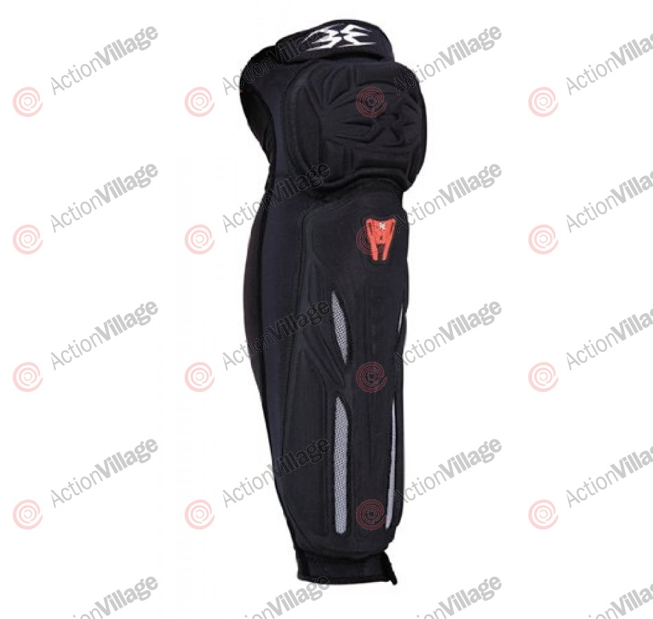 Empire 09 Grind Knee/Shin Pads - Black/Red