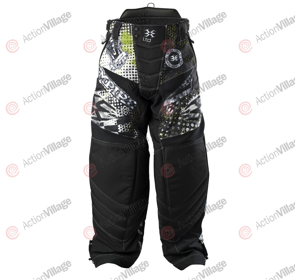 Empire 2013 LTD THT Paintball Pants - Alpha Lime
