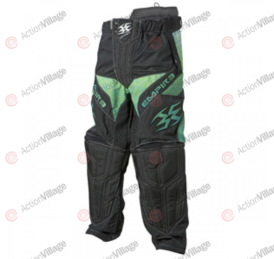Empire 2011 Contact ZE Paintball Pants - Green