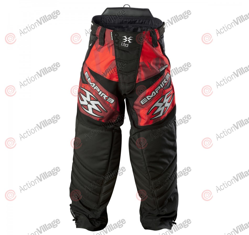 Empire 2012 LTD TW Paintball Pants - Glass Red