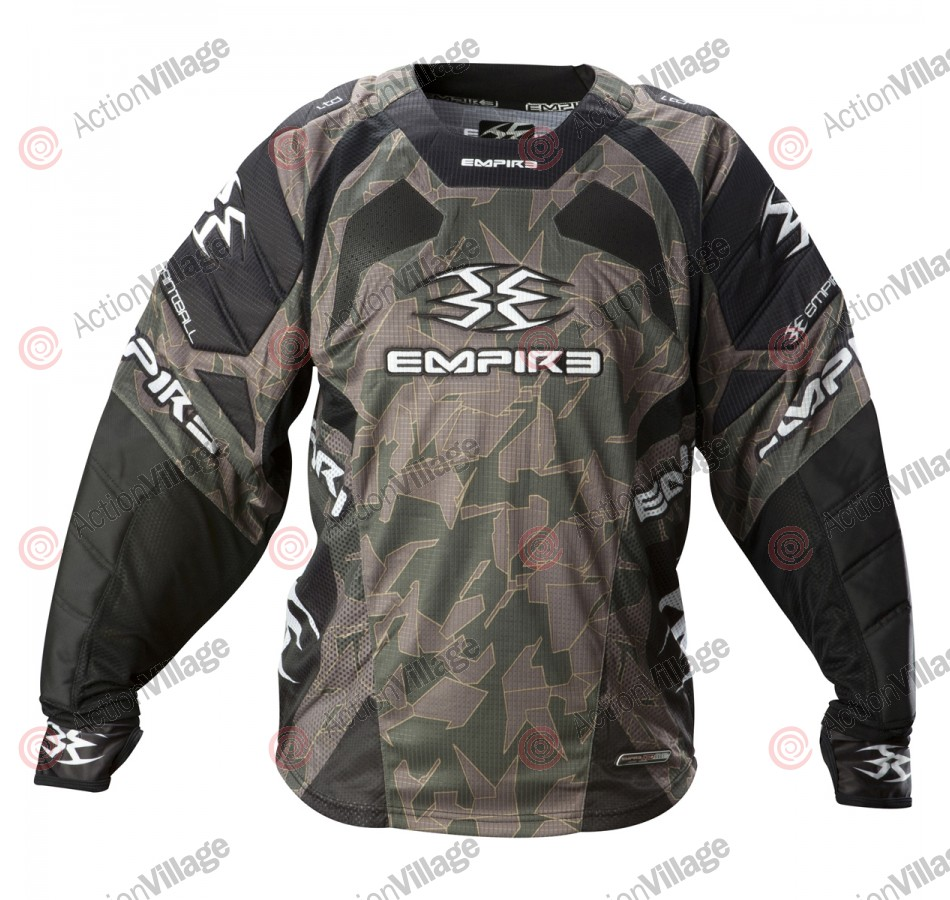 Empire 2012 LTD TW Paintball Jersey - Breed Tan