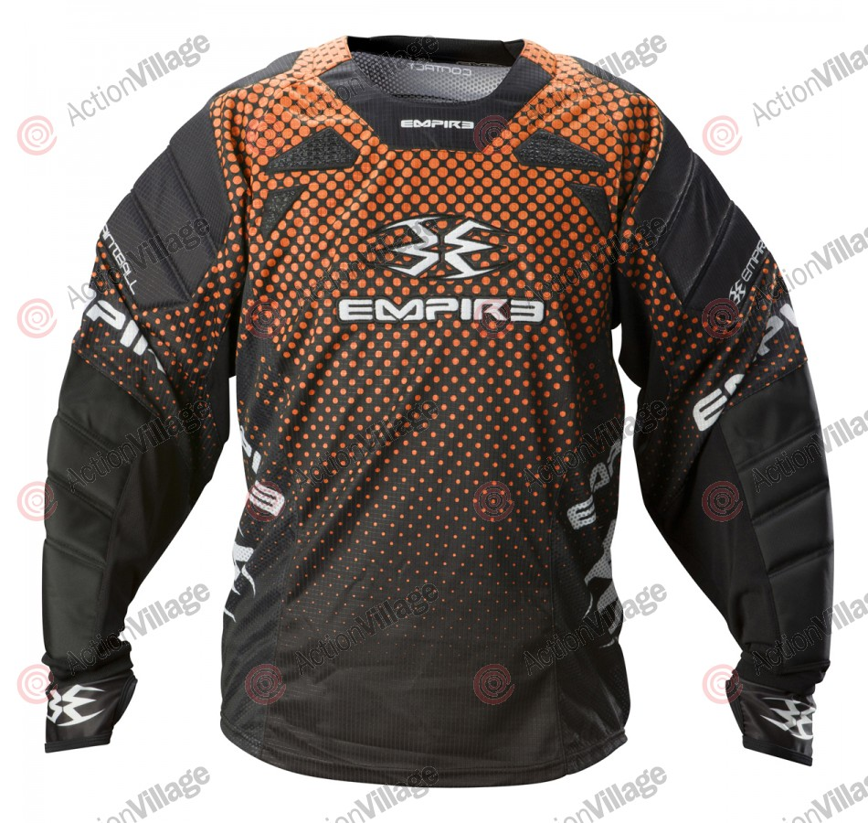 Empire 2012 Contact TW Paintball Jersey - Orange