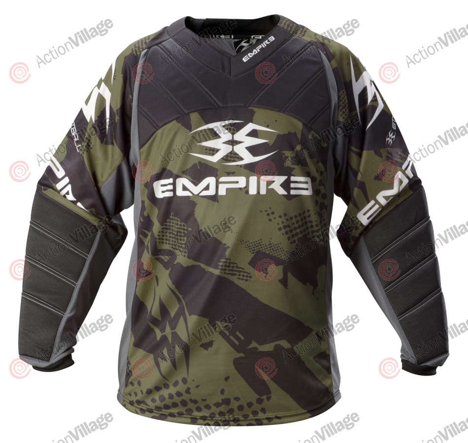 Empire 2012 Prevail TW Paintball Jersey - Olive