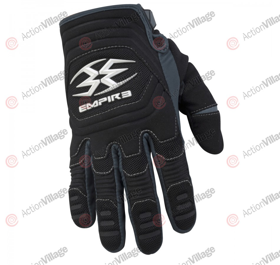 Empire 2012 Contact TW Paintball Gloves - Black