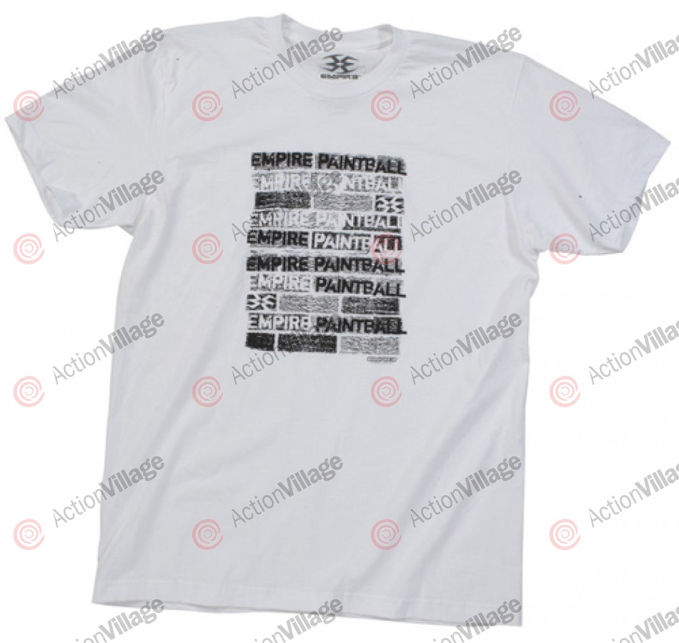 Empire 2012 Brick TW T-Shirt - White