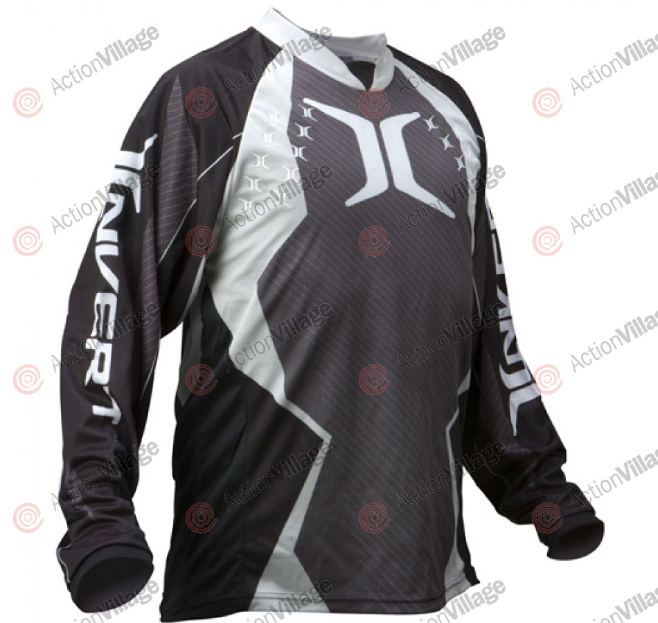 Invert 2011 Prevail ZE Paintball Jersey - Silver
