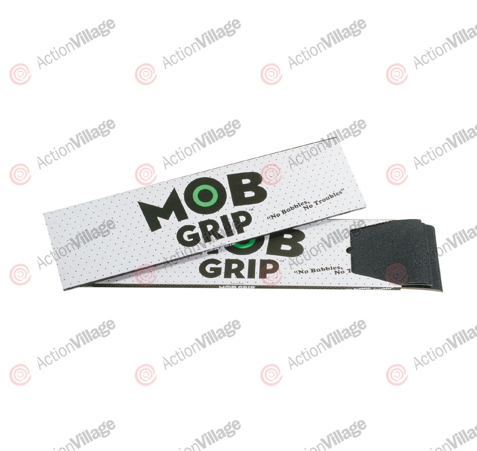 Mob Grip Tape 9in x 33in - 1 Sheet - Black - Skateboard Griptape