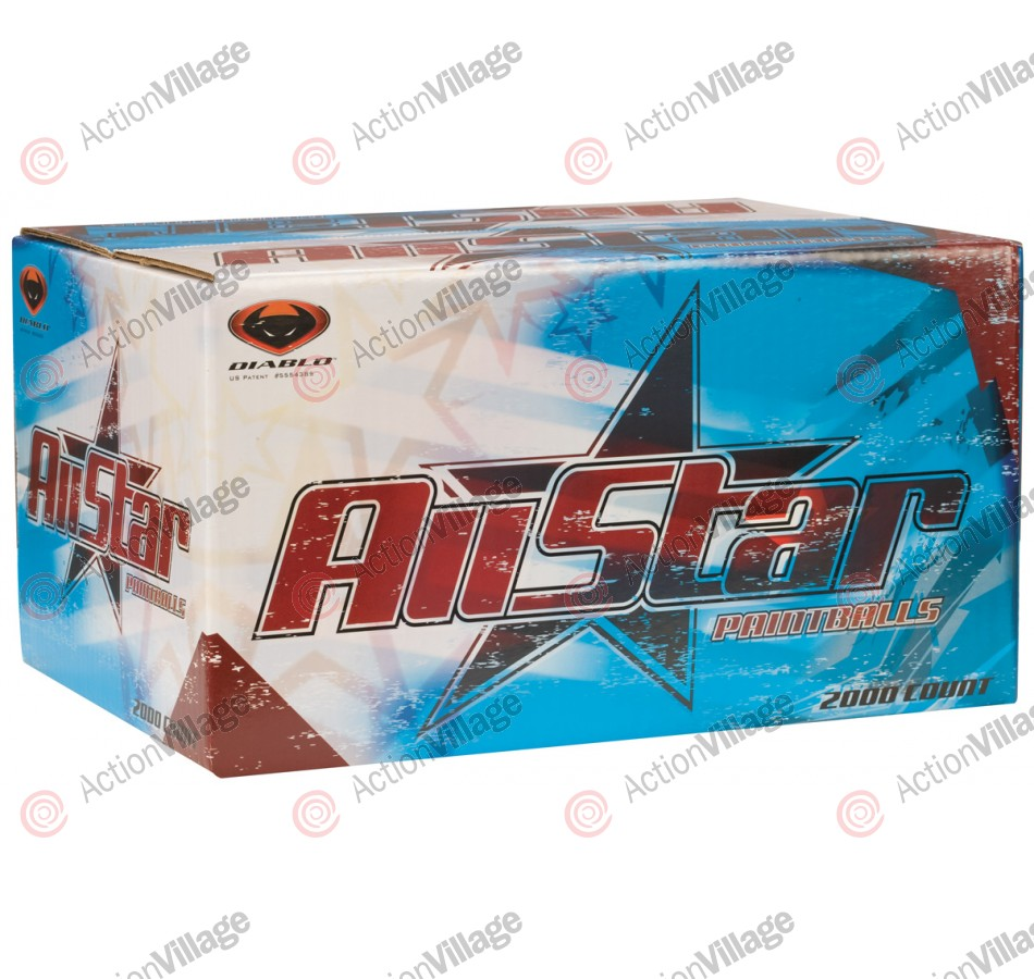 RPS All Star Paintballs - 1000 Rounds Orange