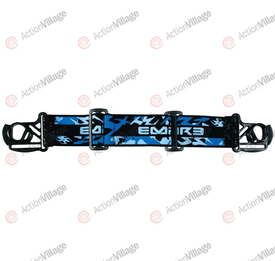 Empire Event Goggle Strap - Blue Camo