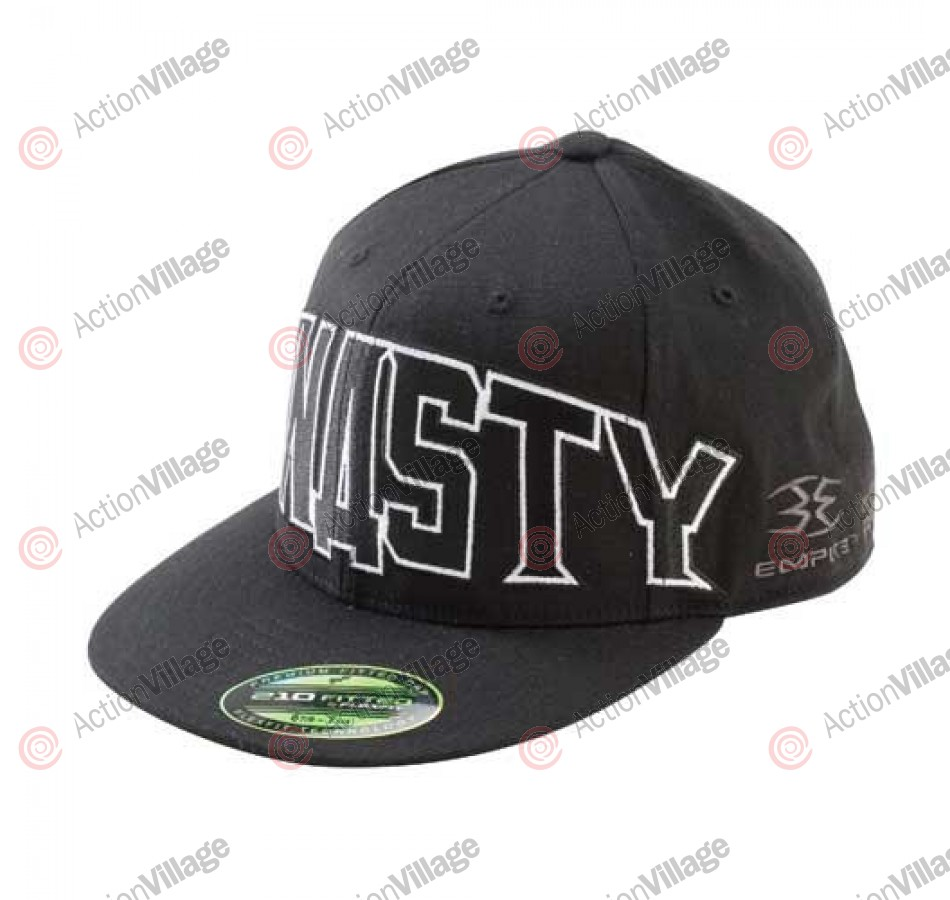 Empire 09 Dynasty Men's Fitted Hat - Black