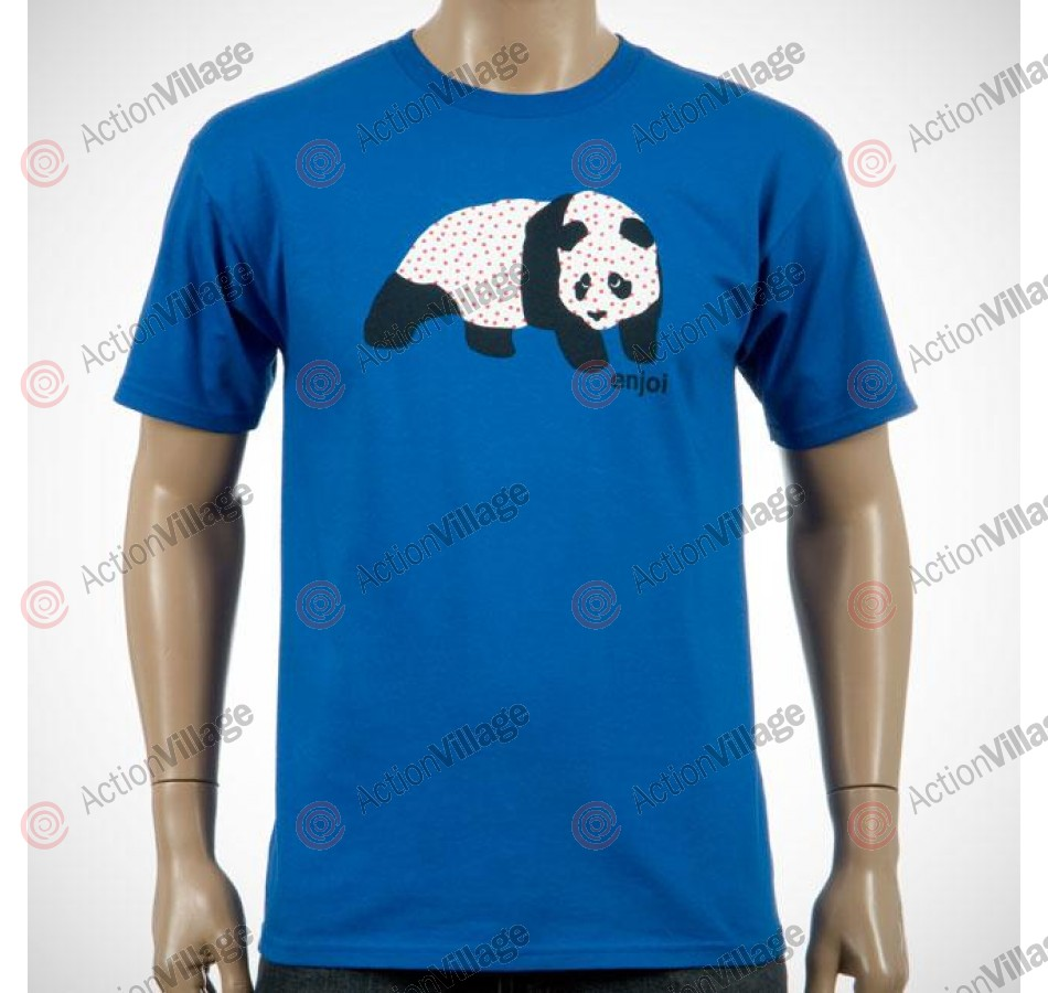 Enjoi Sick Panda Tee - Royal - XX Large - Mens T-Shirt
