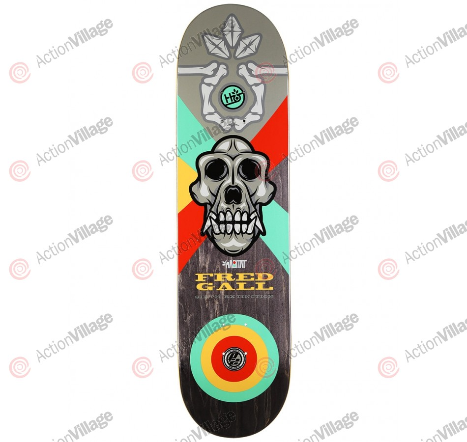 Habitat FG 6TH Extinction P2 - Grey/Black - 8.375 - Skateboard Deck