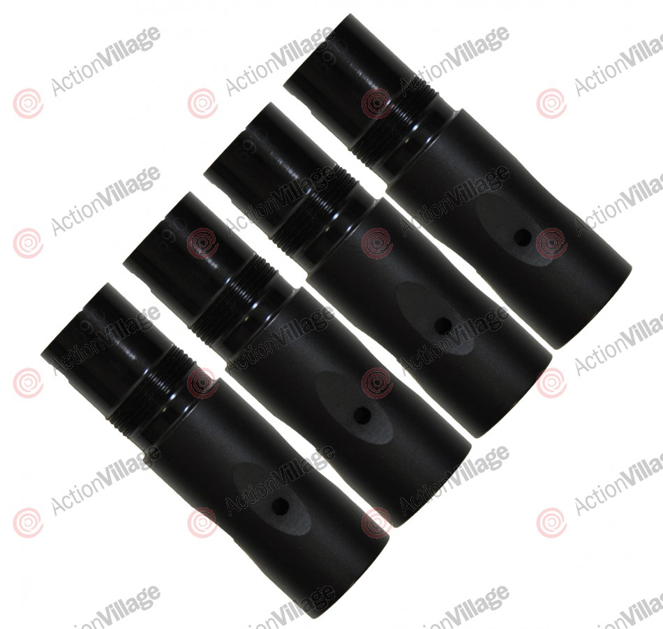 SLY Paintball 4 Piece Barrel Back Kit - Tippmann 98 - Black