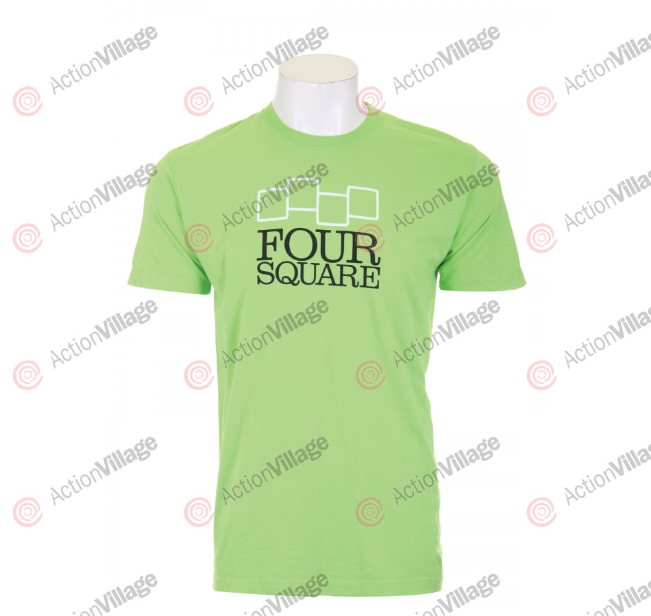 Four Square Stacker - Greenlight - T- Shirt