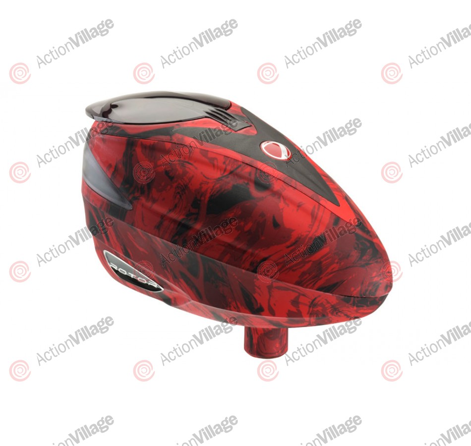Dye Rotor Paintball Loader - Liquid Red