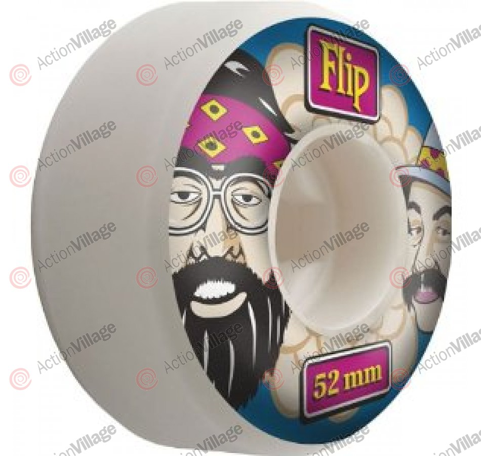 Flip 52mm Cheech and Chong White - Skateboard Wheels