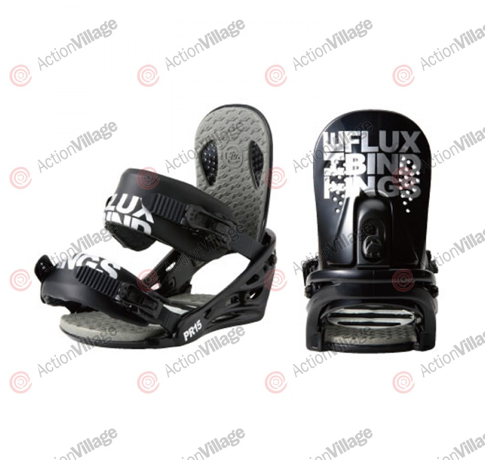 Flux PR15 2011 - Men's Black Snowboard Bindings