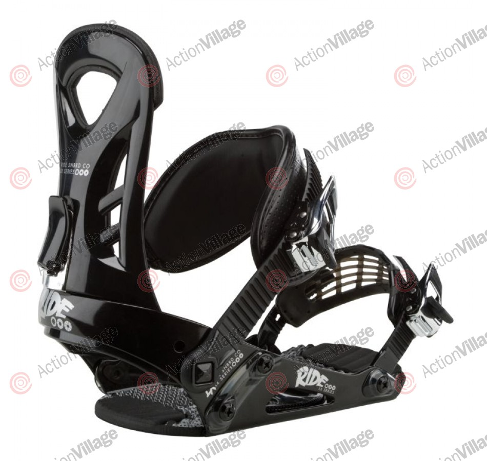 Ride LX 2011 - Men's Black Snowboard Bindings