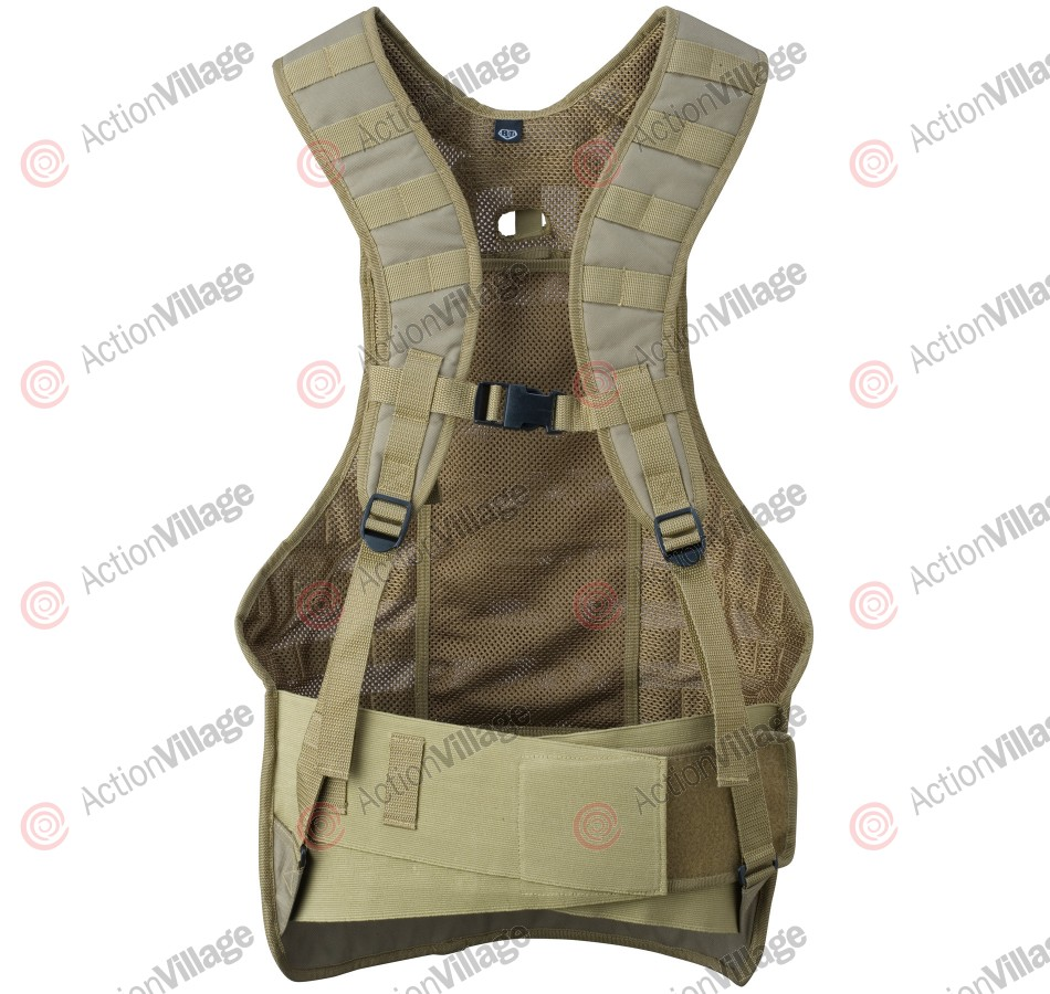 BT Static Paintball Vest - Tan