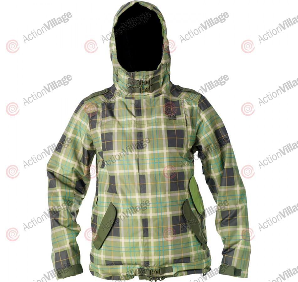 DC Data 2011 - Kermit Plaid - Snowboarding Jacket