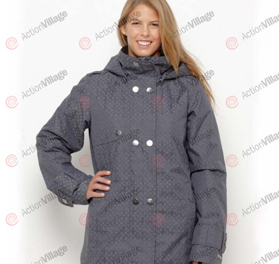 Roxy Bolton Valley - Black Print - Snowboarding Jacket