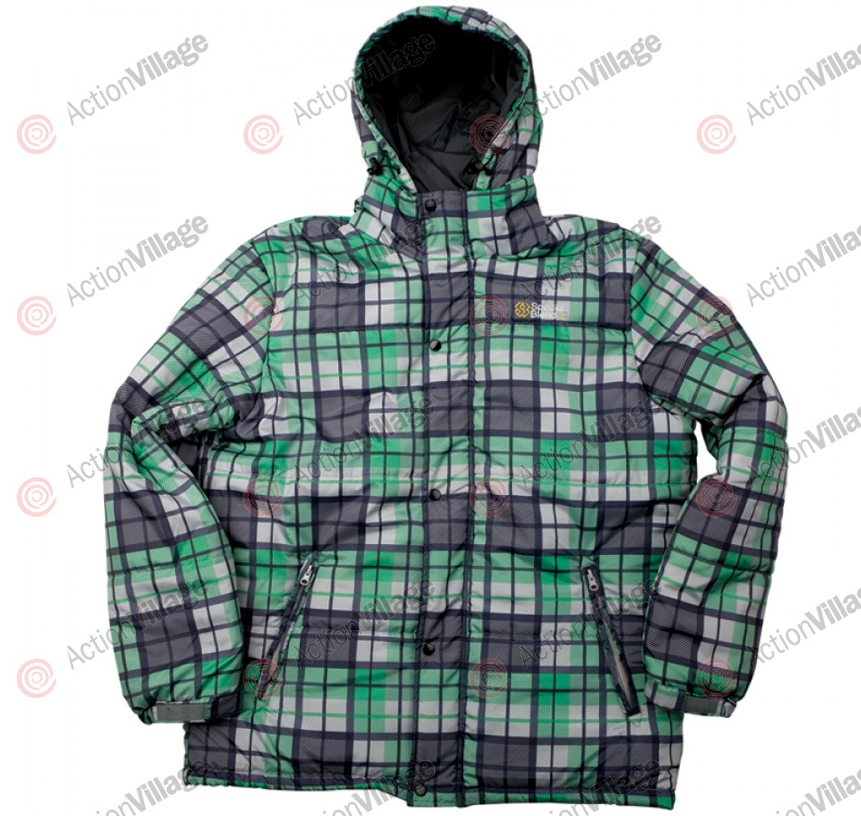 Special Blend Line 2010 - Grey Thugby Plaid - Snowboarding Jacket - Extra Large