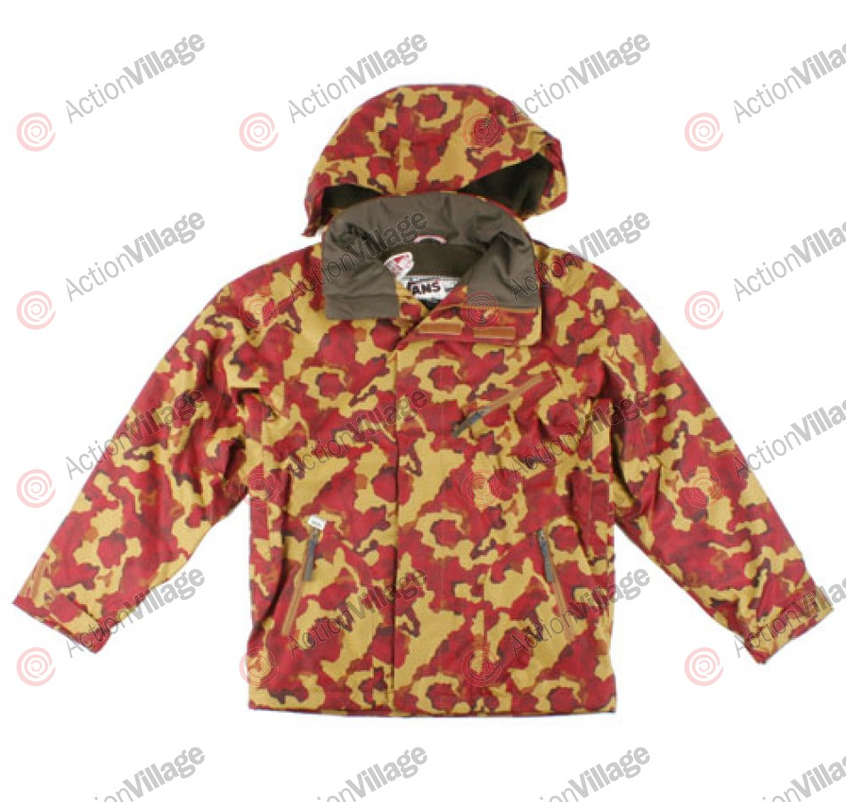 Vans Grunt Insulated - Lincoln Copper WIld Things Camo - Snowboarding Jacket