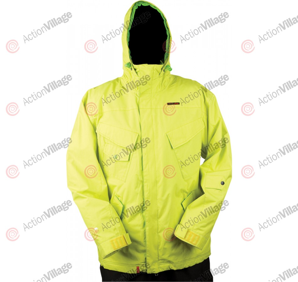 Four Square Fabian - Citron - Snowboarding Jacket