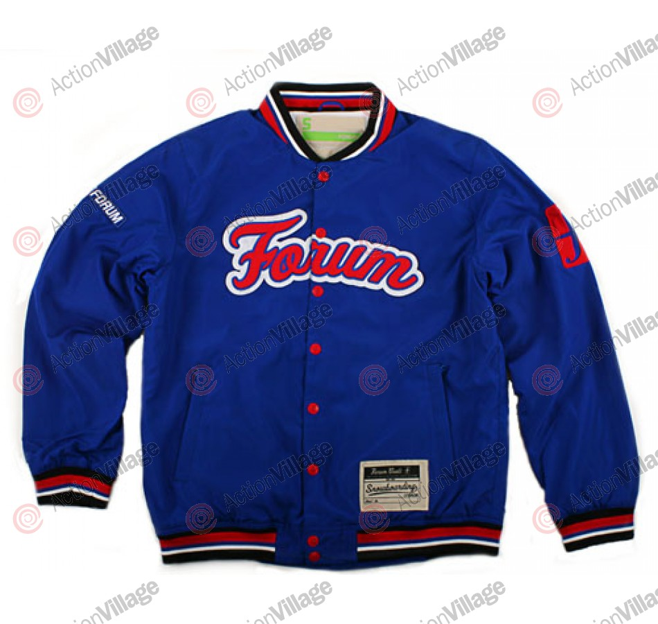 Forum Stadium 09 - Blue / Red - Snowboarding Jacket