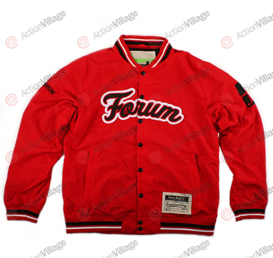 Forum Stadium 09 - Red - Snowboarding Jacket