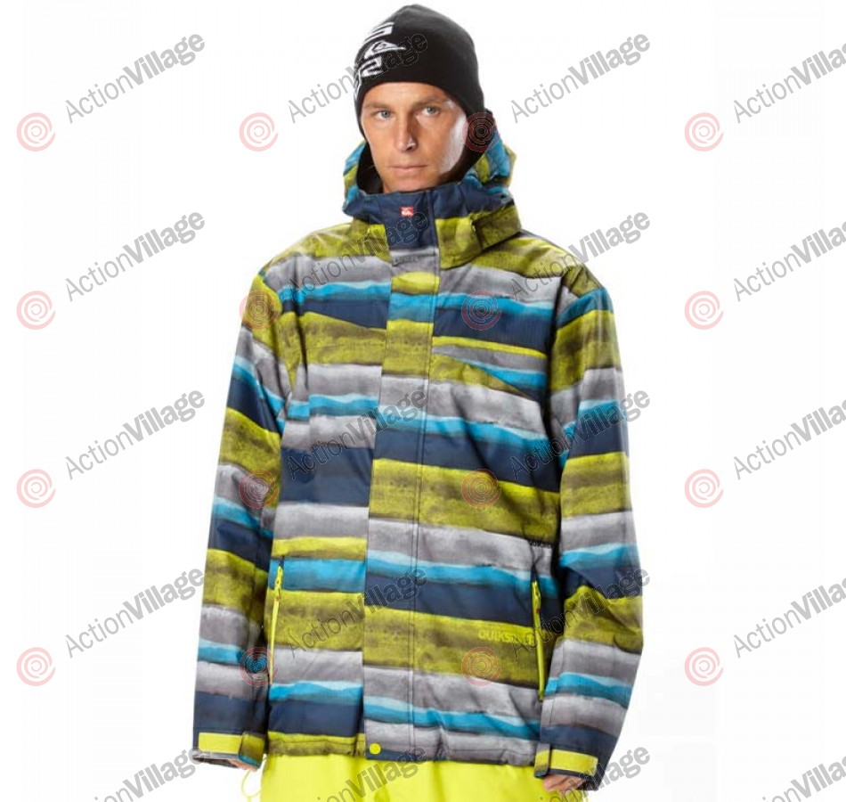 Quiksilver Last Mission - Yellow - Snowboarding Jacket