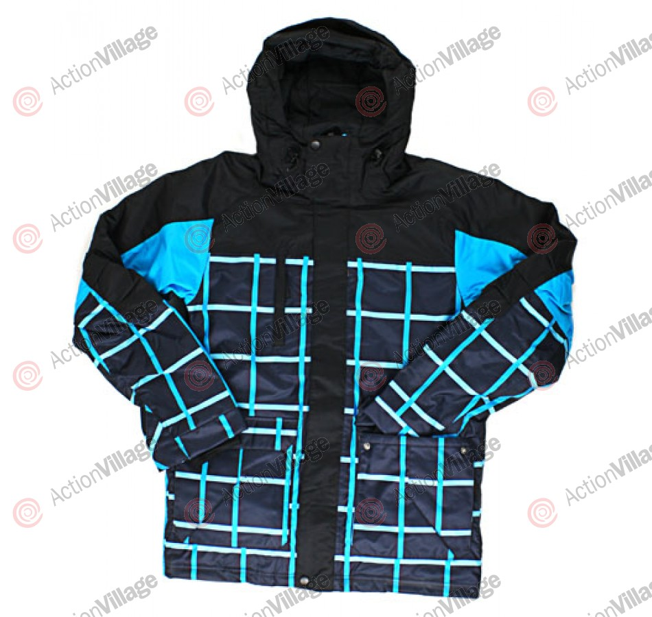 Billabong Successive - Black / Blue - Snowboarding Jacket - Extra Large