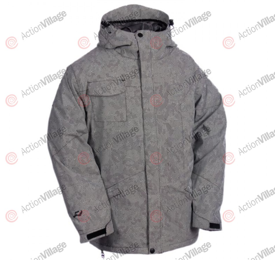 Ride Gatewood - Mind Games White - Snowboarding Jacket