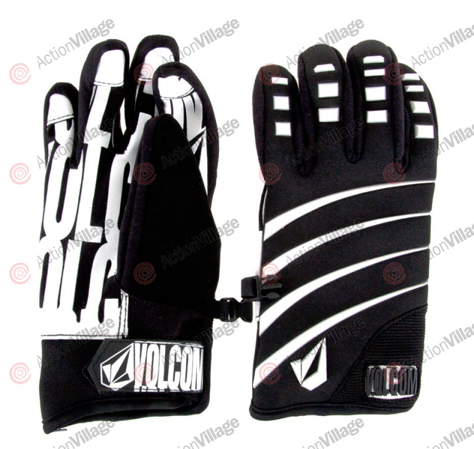 Volcom Super Duper Pipe - Black - Men's Gloves
