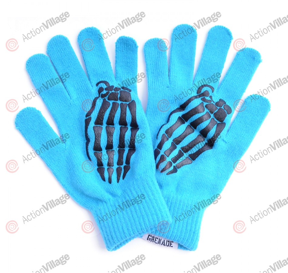 Grenade Crypt 2011 - Blue - Men's Gloves
